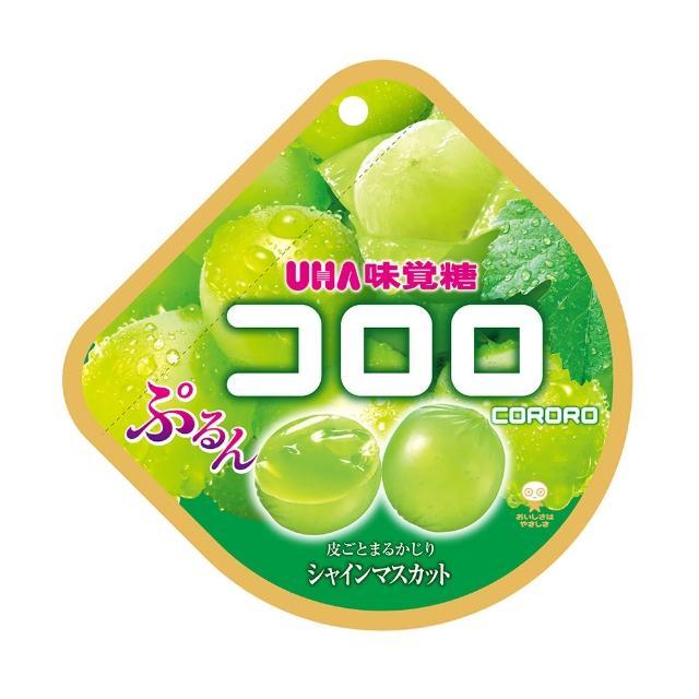 【味覺糖】酷露露Q糖-白葡萄味(48g)
