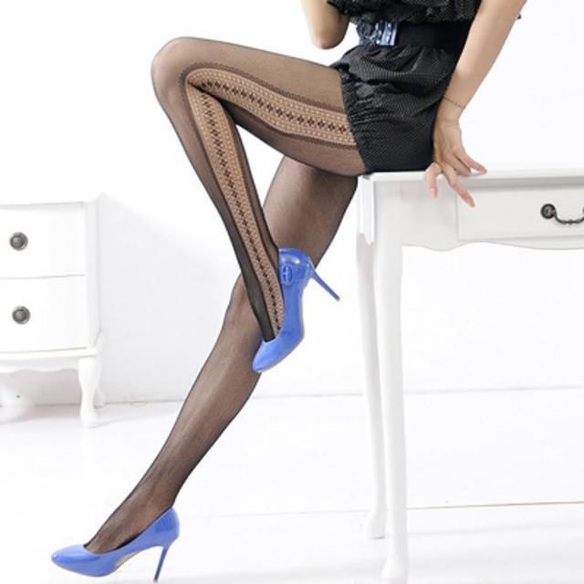 【Lady c.c.】神秘性感側簍設計造型褲襪