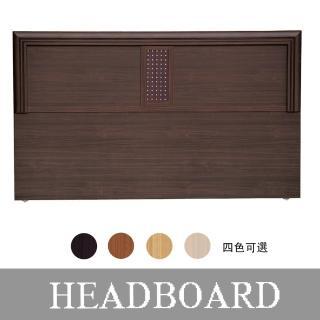 【HOME MALL】銀點木心板 單人3.5尺床頭片(4色可選)