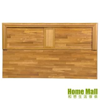 【HOME MALL】銀點木心板 加大6尺床頭片(集成木)