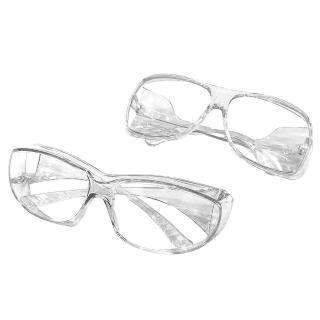 【KEL MODE】防護 防飛沫 防風眼鏡-透明工作護目鏡(大版/小版)