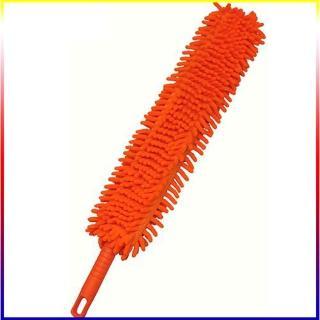 【月陽】可彎韓式可彎曲雙面長毛超細纖維靜電除塵撢(F120101隨機出貨)