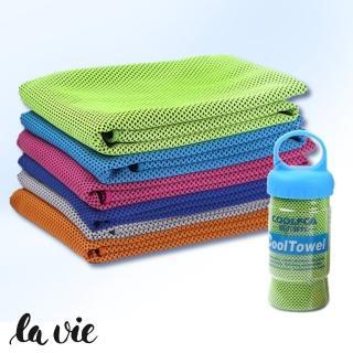 【COOLFCA】筒裝冰涼巾運動涼感巾(六色可選)