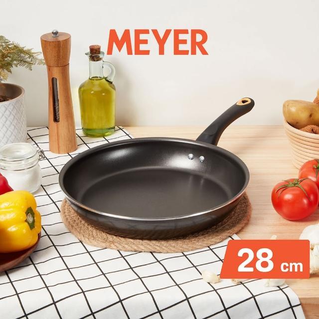 【MEYER 美亞】NEW SKYLINE系列不沾平底鍋28CM(無蓋)