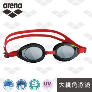 【arena】日本製 大視角 防霧 抗UV 訓練款 泳鏡(AGY380)