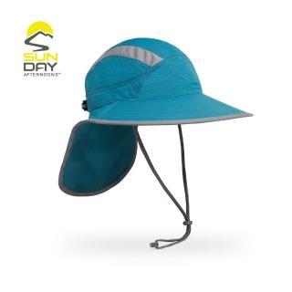 【美國Sunday Afternoons】抗UV防潑透氣護頸帽  鏡腳置孔 山巒藍 Ultra-Adventure(SAS2A01392B)