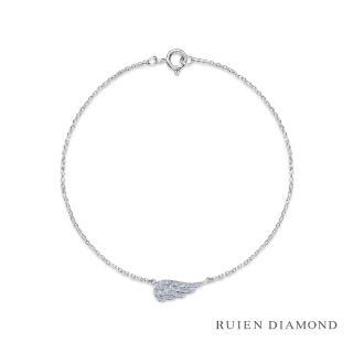 【RUIEN DIAMOND 瑞恩鑽石】輕珠寶系列 20分(14K白金 鑽石手鍊)
