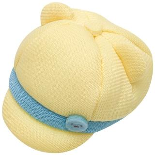 【San-X】角落掌心沙包公仔的變裝秀(鴨舌帽。黃 角落生物)