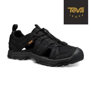 【TEVA】童 Manatee 多功能護趾運動涼鞋/雨鞋/水鞋(黑-TV1019403CBLK/TV1019403YBLK)