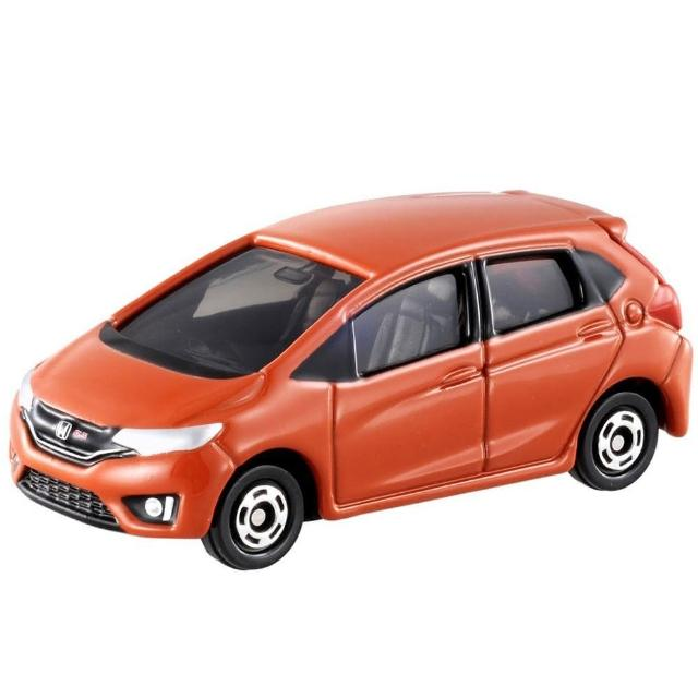 【TOMICA】NO.066 HONDA FIT 紅(多美小汽車)