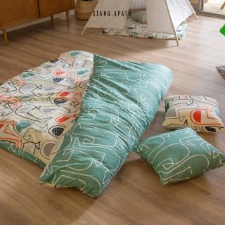 【cheri】日式兒童墊被-L 150cmX200cm(斯德哥爾摩)