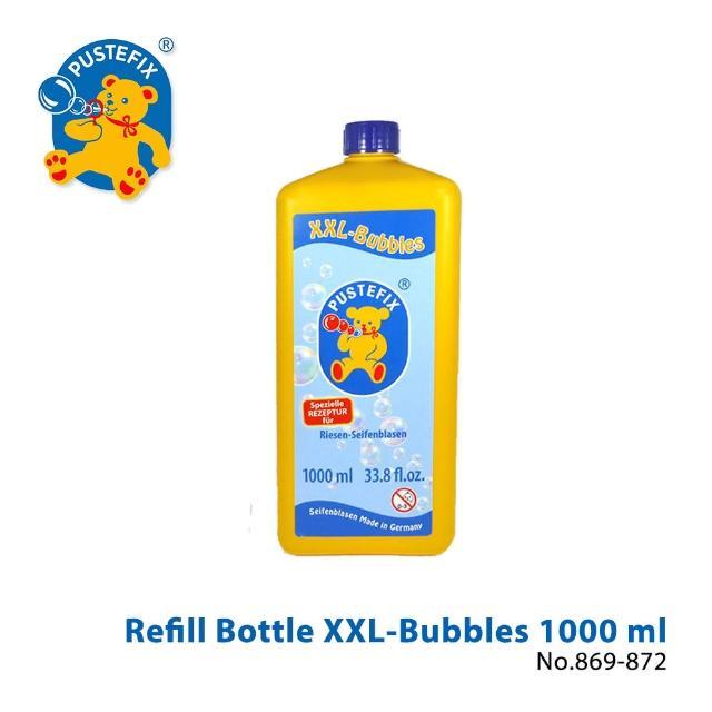 【德國Pustefix】魔法拉繩泡泡專用補充液1000ML(869-872)