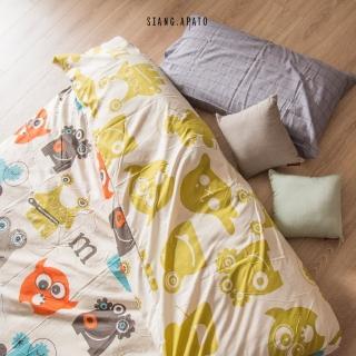 【cheri】日式兒童墊被-L 150cmX200cm(怪怪妖怪-米)