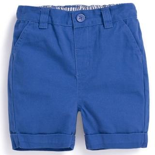 【JoJo Maman BeBe】超優質嬰幼兒/兒童100% 純棉短褲_天空藍(JJ-D2256-C)