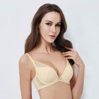【La Felino 羅絲美】夏日情懷3/4罩泡棉款B-E罩杯內衣(檸檬黃)