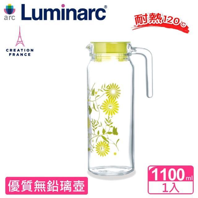 【Luminarc 樂美雅】1.1L春蕾花語玻璃壺(ARC-L7279)