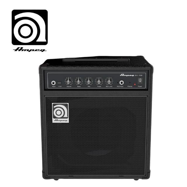【AMPEG】BA-108 貝斯音箱 20瓦(原廠公司貨 商品保固有保障)