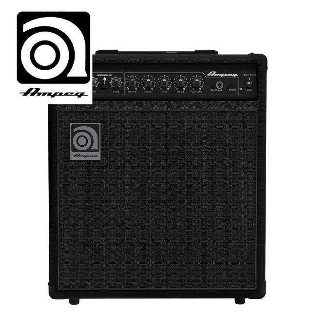 【AMPEG】BA-110 貝斯音箱 40瓦(原廠公司貨 商品保固有保障)