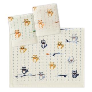 【Gemini 雙星】家貓語錄紗布兒童毛巾(兒童毛巾紗布材質好擰乾)
