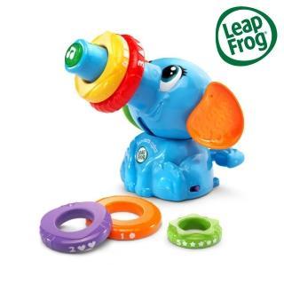 【LeapFrog】疊疊樂小象(套圈圈 顏色 數字)