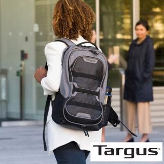 【Targus】Work + Play 15.6 吋健身運動後背包(灰/黑)