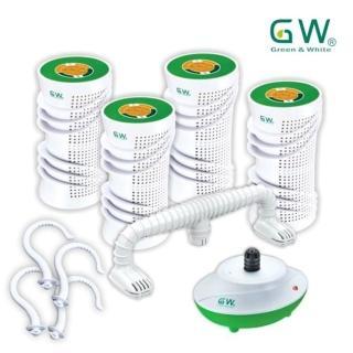 【GW 水玻璃】旋風型除濕機優惠組(多國專利台灣製造)