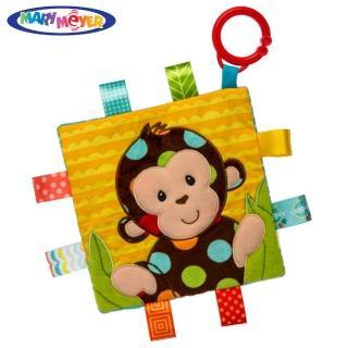 【Mary Meyer】標籤動物安撫沙沙紙-點點猴(沙沙紙 響紙 彌月禮 新生兒玩伴)