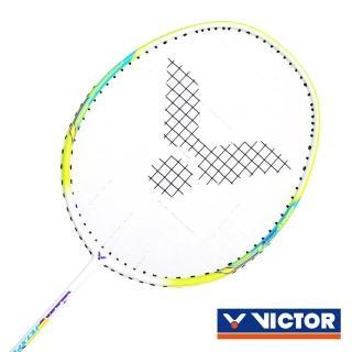 【VICTOR】G6 極速兒童拍-羽球拍 羽毛球拍 勝利 芥末綠白(JS-001JR-5U)