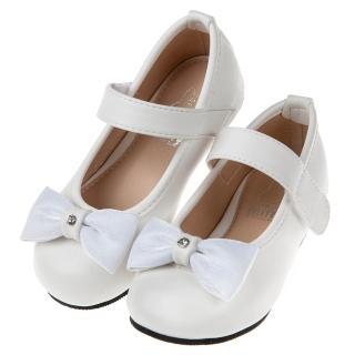 【布布童鞋】Miffy米飛兔蝴蝶結白色兒童公主鞋(L8A080M)