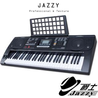 【JAZZY-669】61鍵半配置力道手感電子琴 力度輕重音、麥克風彈唱(力度感應、電鋼琴標準鍵、模擬重鎚手感)