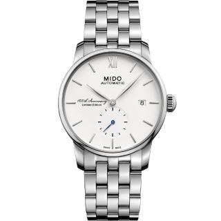 【MIDO 美度】Baroncelli 永恆系列II 100週年限量腕錶(M86084261)