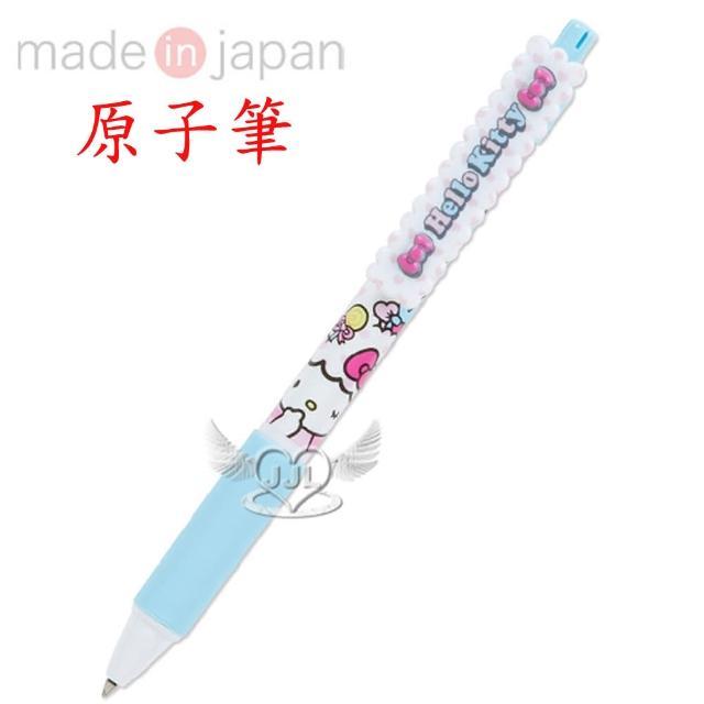 【TDL】日本製HELLO KITTY原子筆繽紛蓬蓬系列 760512