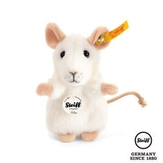 【STEIFF德國金耳釦泰迪熊】Pilla Mouse 老鼠 小白鼠(動物王國_黃標)