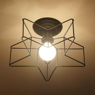 【Honey Comb】工業風五角星吸頂燈(GM-1200)