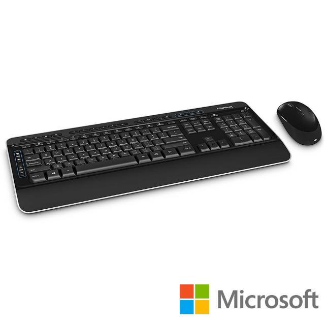 【Microsoft 微軟】無線鍵盤滑鼠組3050