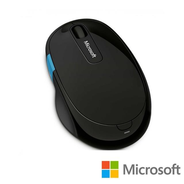 【Microsoft 微軟】Sculpt 舒適滑鼠(黑)