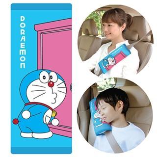 【Doraemon 哆啦A夢】大安全帶護套/靠枕(側臉款)