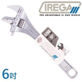 【IREGA】92WR管鉗兩用活動板手-6吋(活動板手)