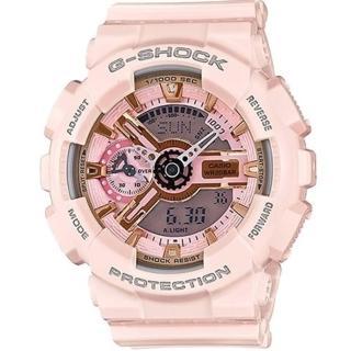 【CASIO 卡西歐】限量潮流運動腕錶(GMA-S110MP-4A1)