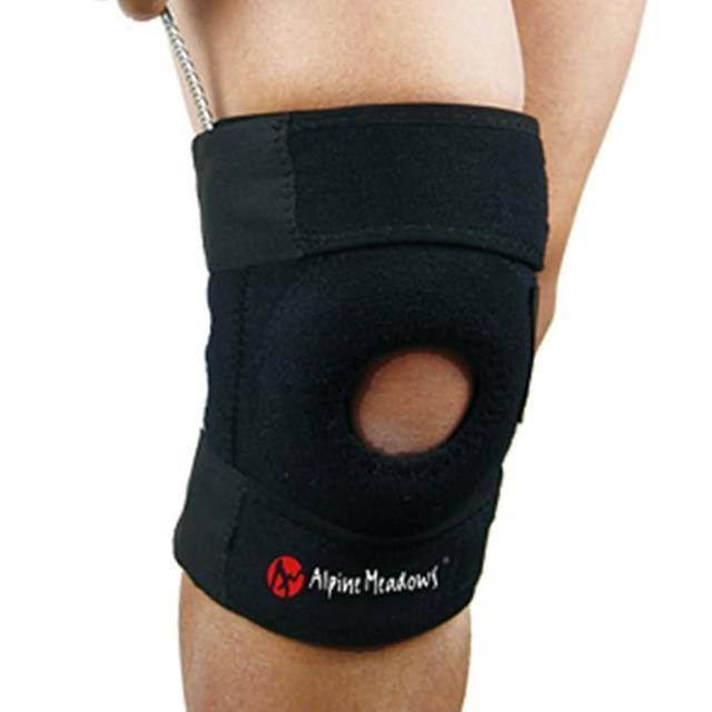 【PUSH!】运动户外休闲用品单片式单向三束带高效舒适护膝(AM2022)