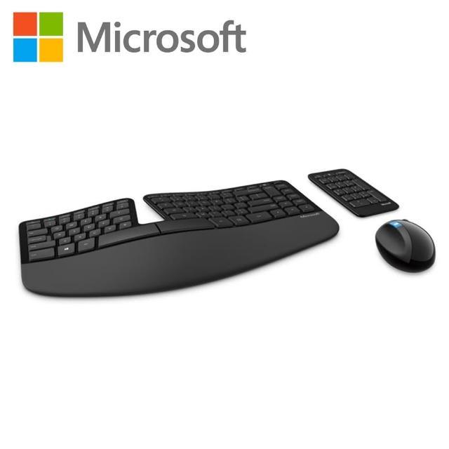 【Microsoft】Sculpt人體工學鍵鼠組