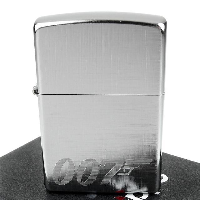 【Zippo】美系~James Bond 007-詹姆士龐德Logo圖案雕刻打火機