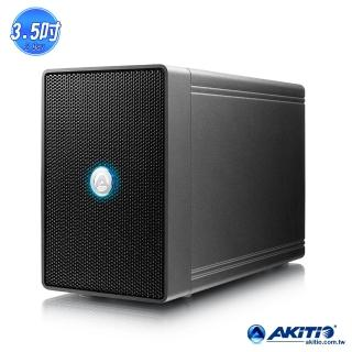 【AKiTiO 艾客優品】鐵甲威龍 U31C(3.5吋 USB3.1 雙槽磁碟陣列)