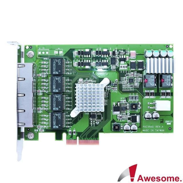 【Awesome 和順】伺服器級四埠GigaLAN網路卡(AWD-PXE350Q)