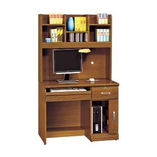 【H&D】樟木實木4.2尺書桌組(樟木色 實木 4.2尺 書桌組)