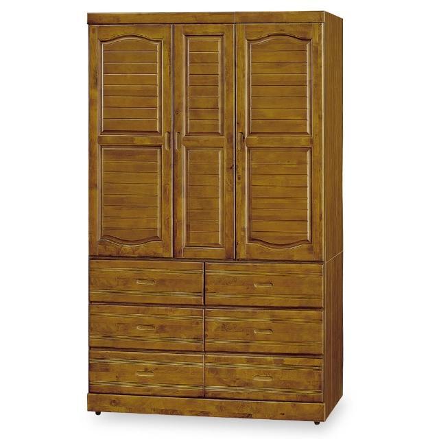【時尚屋】海蒂樟木4x7尺衣櫥 G18-102-4(免運費 免組裝 臥室系列 衣櫥)