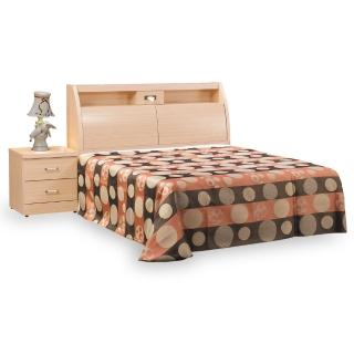 【時尚屋】菲利普白橡5尺雙人床-不含床頭櫃-床墊 G18-065-2+035-3(免運費 免組裝 臥室系列)