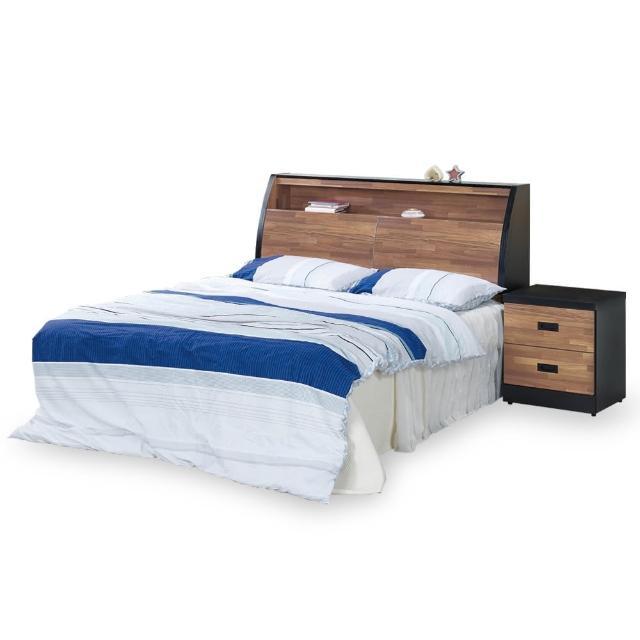 【時尚屋】本森積層木床箱型5尺雙人床-不含床頭櫃-床墊 G18-003-3+003-4(免運費 免組裝 臥室系列)