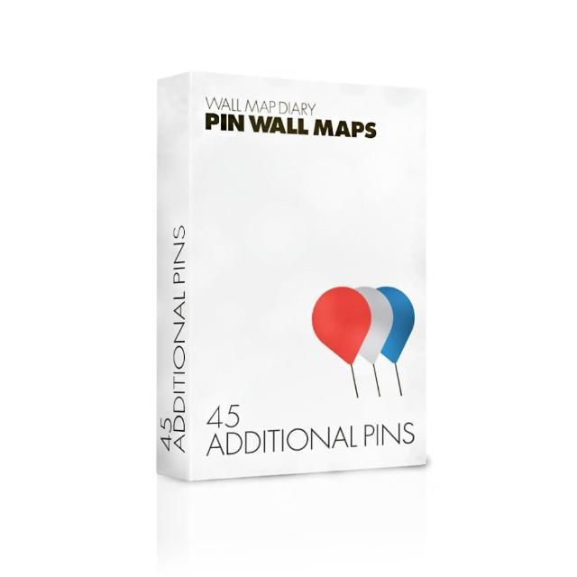 【palomar】圖針 紅灰藍45針裝(拼世界地圖專用)