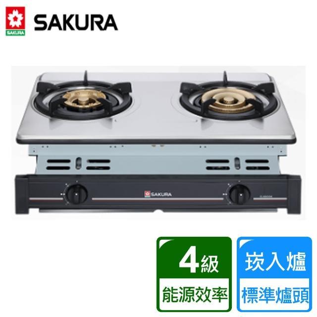 【SAKURA 櫻花】炒翻天安全爐 崁入式 三環爐(G-6600K)